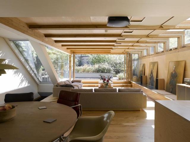 Nhà như ốc đảo không lo tiền điện tăng vọt nhờ thiết kế thông minh - 2
