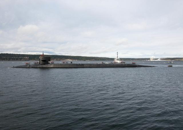 Siêu tàu ngầm Mỹ mang 154 tên lửa sứ giả chiến tranh dưới lòng đại dương - 3