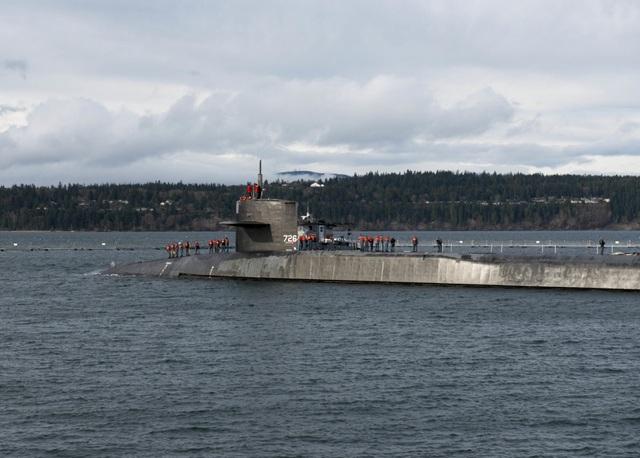 Siêu tàu ngầm Mỹ mang 154 tên lửa sứ giả chiến tranh dưới lòng đại dương - 2