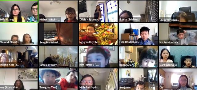 Chương trình Tết đặc biệt của học sinh Trường Yêu tiếng Việt tại Australia - 1