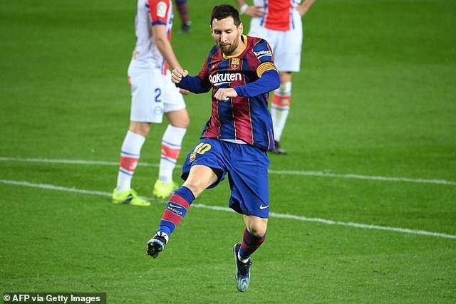 Messi lập cú đúp, Barcelona chiếm vị trí thứ hai của Real Madrid - 2