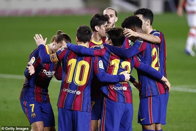 Messi lập cú đúp, Barcelona chiếm vị trí thứ hai của Real Madrid - 5
