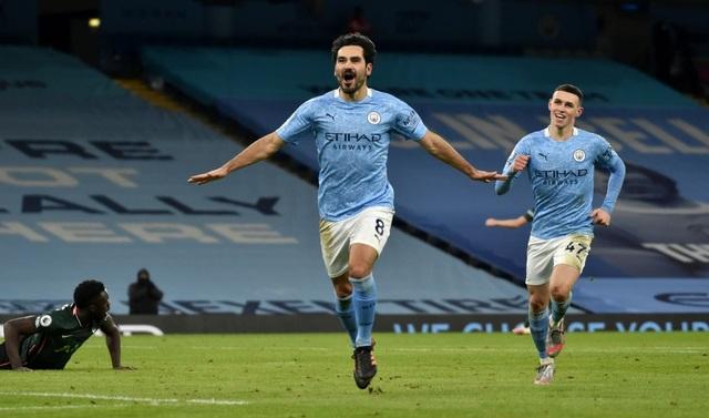 Man City 3-0 Tottenham: Dấu ấn đặc biệt của Gundogan - 1