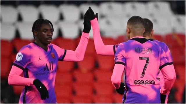 Đánh bại Nice, PSG trở lại ngôi đầu bảng Ligue 1 - 4
