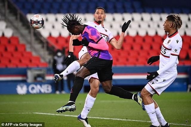 Đánh bại Nice, PSG trở lại ngôi đầu bảng Ligue 1 - 3