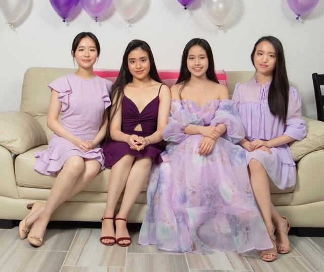 Cô gái sinh tư với vẻ đẹp mộng mơ tựa gái Hàn - 4