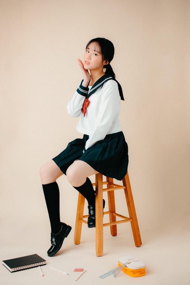 Cô gái sinh tư với vẻ đẹp mộng mơ tựa gái Hàn - 7