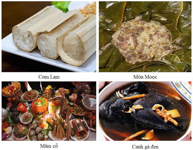 Một số món ăn đặc trưng của đồng bào dân tộc