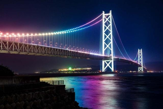 Cây cầu treo dài nhất thế giới - 1