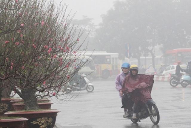 Ảnh hưởng không khí lạnh, Bắc Bộ và Thanh Hóa có mưa rải rác - 1