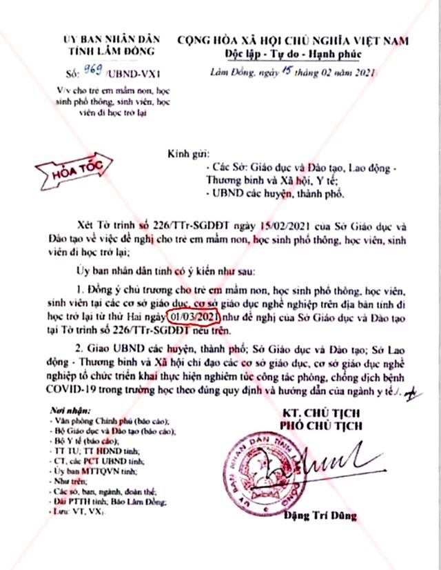 Triệu tập học sinh lớp 10 chỉnh sửa văn bản hỏa tốc của UBND tỉnh - 2