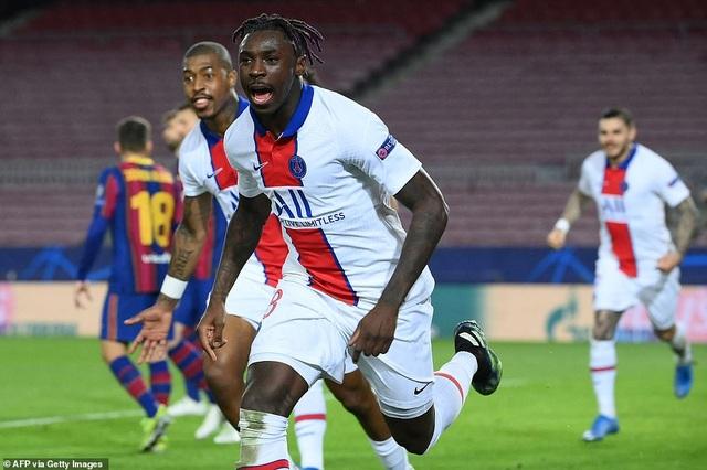 Barcelona 1-4 PSG: Cú hattrick của Mbappe - 7