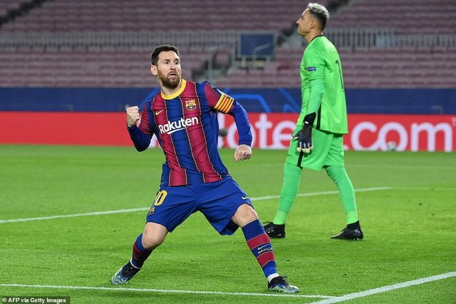 Barcelona 1-4 PSG: Cú hattrick của Mbappe - 2