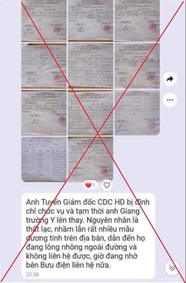 Hải Dương nói gì về thông tin Giám đốc CDC tỉnh bị đình chỉ công tác?  - 4