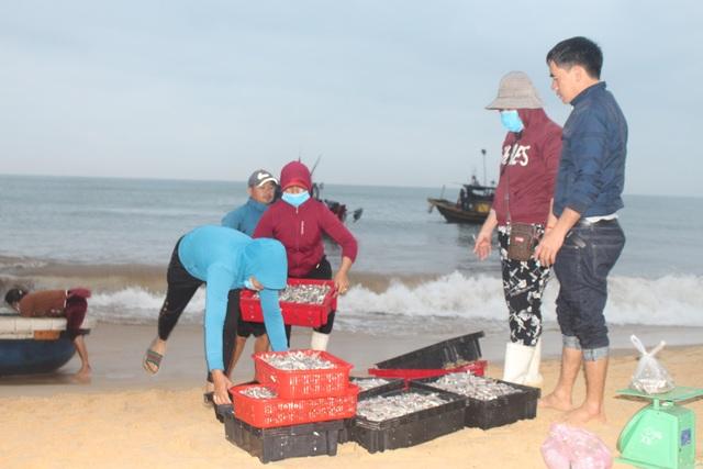 Ngư dân bãi ngang vui mừng trúng lộc biển những ngày đầu năm mới - 2
