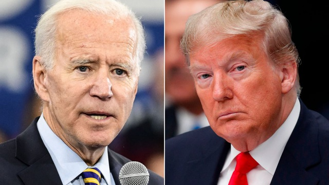 Tổng thống Biden phát mệt khi nói về ông Trump - 1