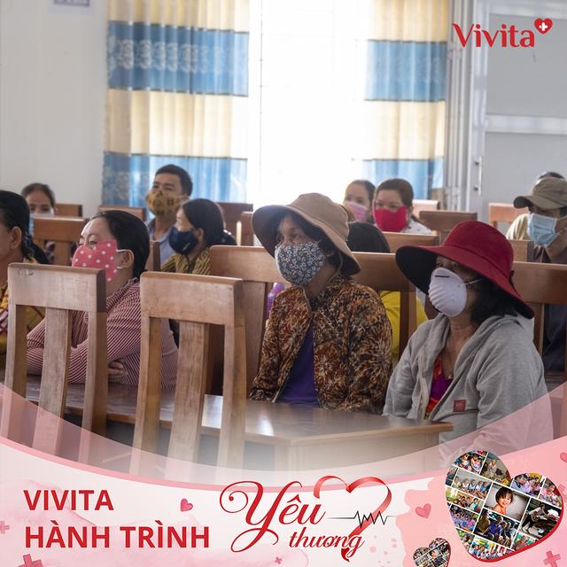 Vivita khởi động Hành Trình Yêu Thương sẻ chia hơi ấm Tết - 2
