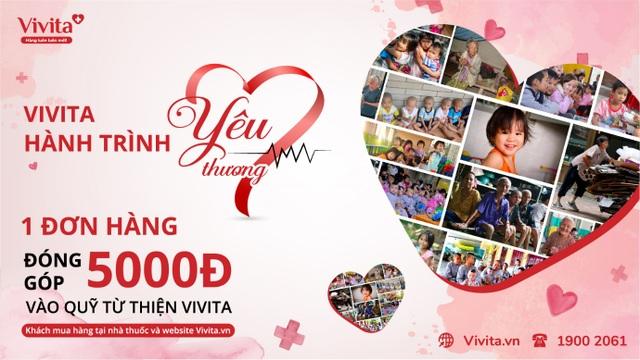 Vivita khởi động Hành Trình Yêu Thương sẻ chia hơi ấm Tết - 3