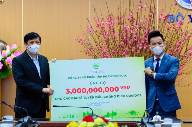 Ecopark dừng quảng cáo và sự kiện Tết để ủng hộ hàng tỷ đồng giúp Hải Dương chống Covid-19 - 1
