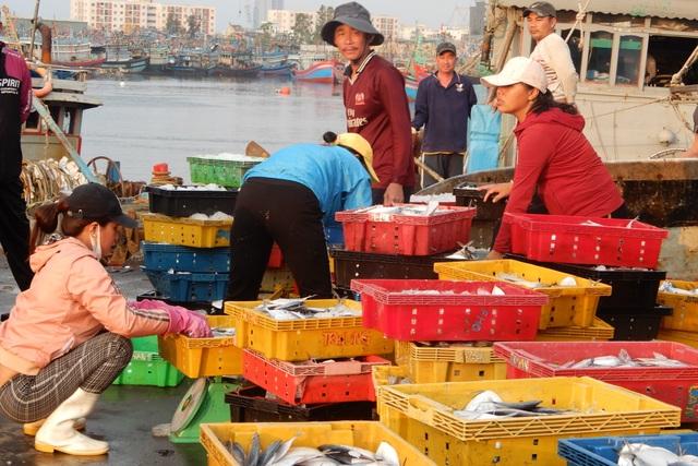 Ăn Tết trên biển, ngư dân trúng lộc đầu năm mới - 1