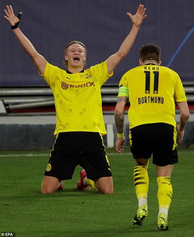 Erling Haaland tỏa sáng, Dortmund ngược dòng đánh bại Sevilla - 5