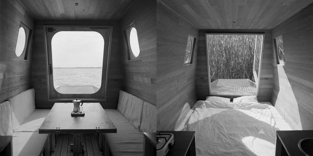 Cặp vợ chồng làm nhà nổi tuyệt đẹp giữa sông, có thể chu du khắp nơi - 5