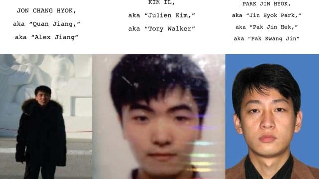 Mỹ cáo buộc 3 tin tặc Triều Tiên đánh cắp 1,3 tỷ USD - 1