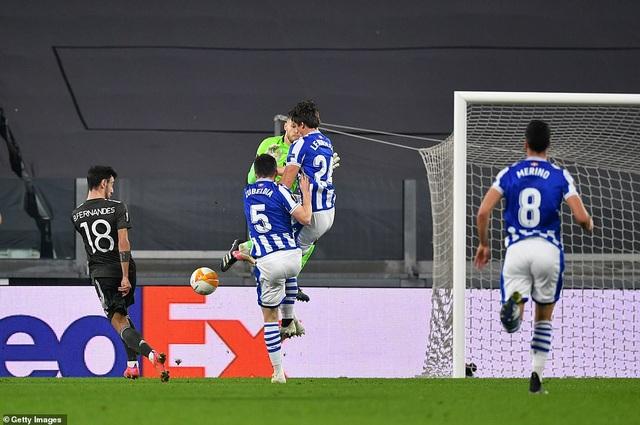 Bruno Fernandes lập cú đúp, Man Utd vùi dập tưng bừng Real Sociedad - 2