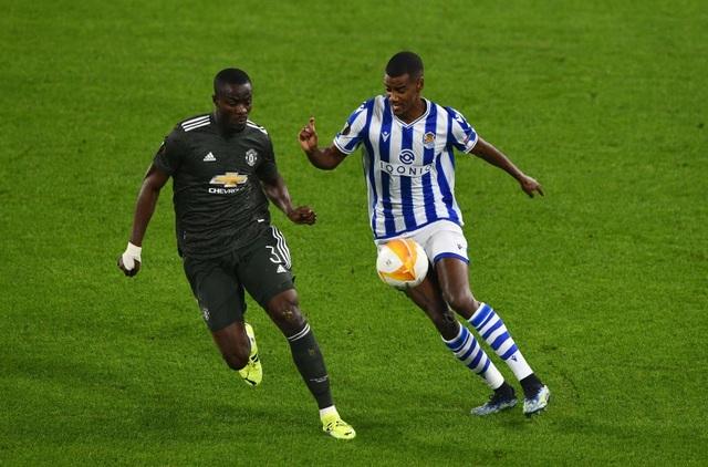 Fernandes, Telles nổi bật trong chiến thắng của Man Utd trước Real Sociedad - 1