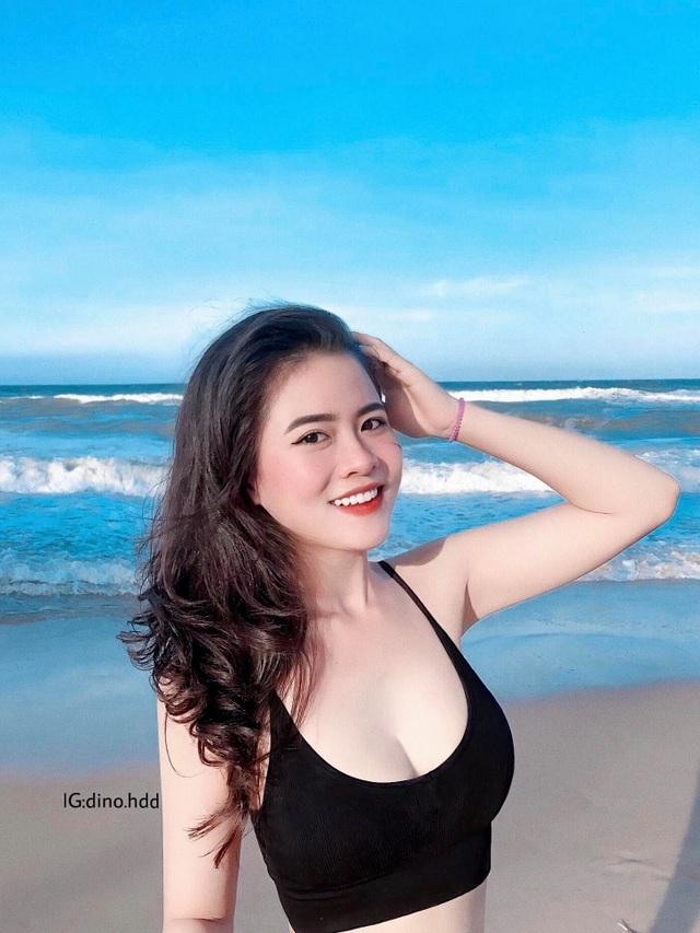 Đăng ảnh chụp ở biển, nữ sinh 2K được dân mạng khen xinh như hoa - 4