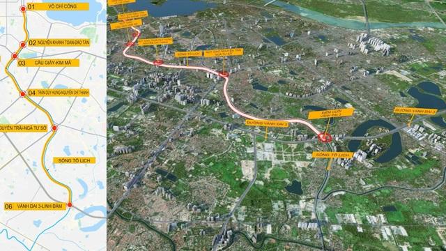 Đề xuất dự án cao tốc ngầm chạy dọc sông Tô Lịch - 1