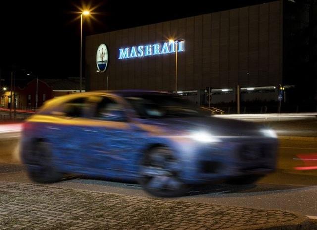 Những hình ảnh đầu tiên của xe nguyên mẫu Grecale - SUV mới của Maserati - 1