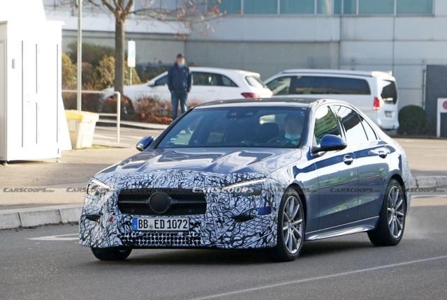 Mercedes-Benz C-Class 2022 sẽ ra mắt chỉ với động cơ chạy điện - 2