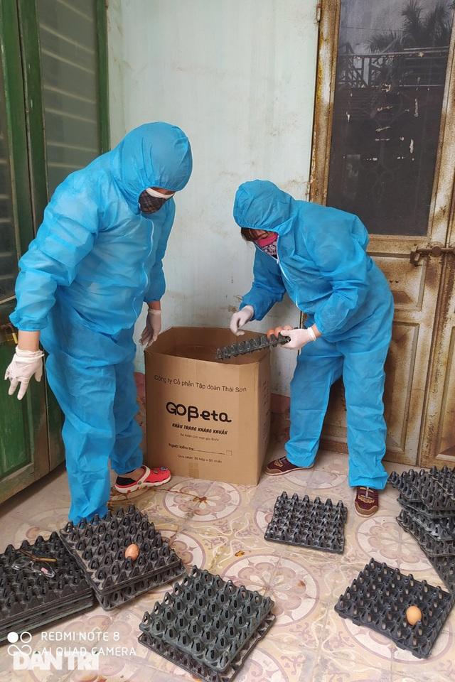Cảm động bếp ăn dã chiến xuyên Tết luôn đỏ lửa tại ổ dịch TP Chí Linh - 7