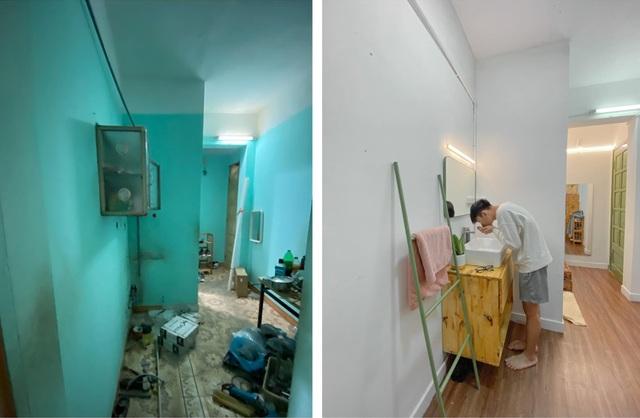 Ngỡ ngàng căn hộ tồi tàn ở Hà Nội lột xác đẹp mê chỉ 20 triệu đồng - 8