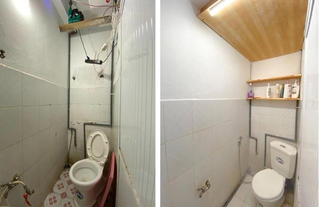 Ngỡ ngàng căn hộ tồi tàn ở Hà Nội lột xác đẹp mê chỉ 20 triệu đồng - 10