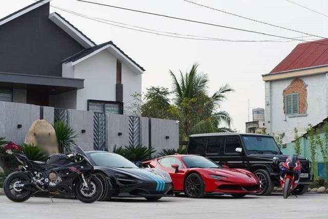 Bên trong garage siêu xe hoành tráng của giới đại gia Việt - 6