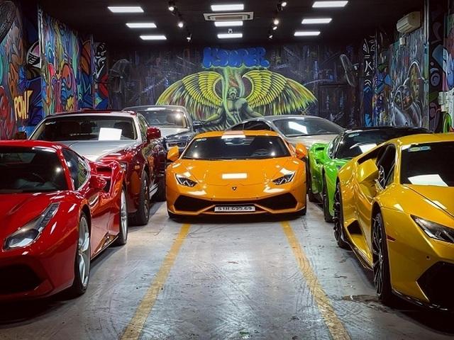 Bên trong garage siêu xe hoành tráng của giới đại gia Việt - 7