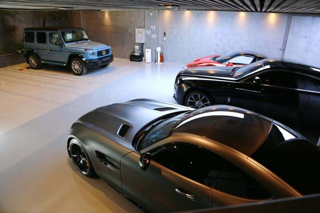 Bên trong garage siêu xe hoành tráng của giới đại gia Việt - 4
