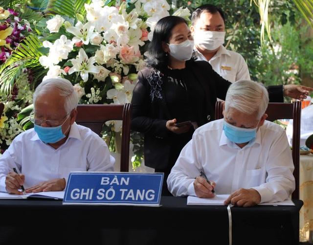 Những dòng tiễn biệt nguyên Phó Thủ tướng Trương Vĩnh Trọng - 1