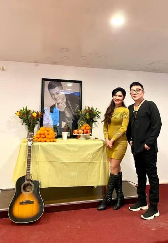 Tiết lộ xúc động khi mở vali của nghệ sĩ Vân Quang Long sau 49 ngày mất - 1