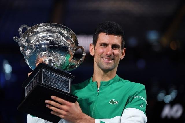 Đánh bại Medvedev, Djokovic vô địch Australian Open 2021 - 14