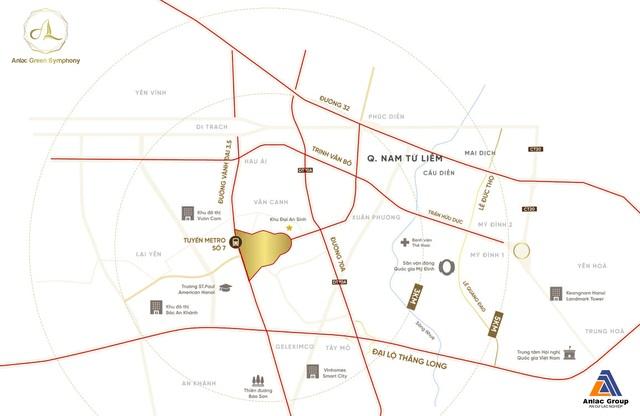 Điểm sáng về quy hoạch của khu đô thị bán khép kín Anlac Green Symphony - 1