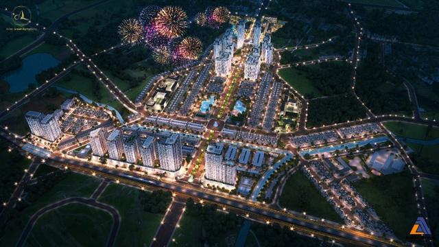 Điểm sáng về quy hoạch của khu đô thị bán khép kín Anlac Green Symphony - 2
