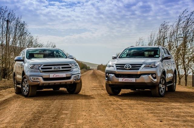 Ford Everest áp sát Toyota Fortuner trong cuộc đua SUV 7 chỗ tháng 1/2021 - 1