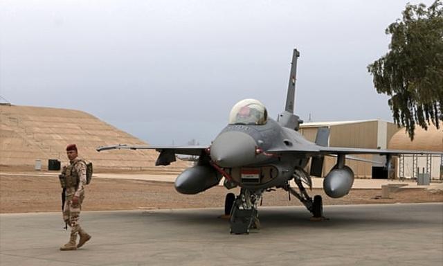 Rocket nã xuống căn cứ không quân Iraq có công ty quốc phòng Mỹ - 1