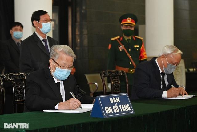 Lãnh đạo Đảng, Nhà nước viếng nguyên Phó Thủ tướng Trương Vĩnh Trọng - 22