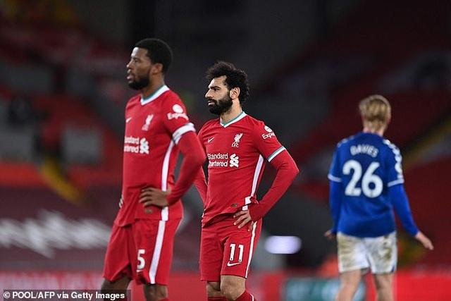 HLV Jurgen Klopp cảm thấy tổn thương sau khi Liverpool thua sốc Everton - 4