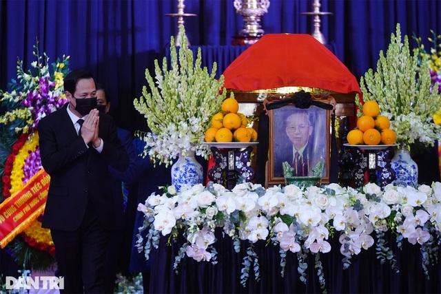 Lãnh đạo Đảng, Nhà nước viếng nguyên Phó Thủ tướng Trương Vĩnh Trọng - 19