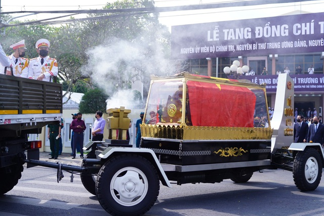 Lễ truy điệu và an táng nguyên Phó Thủ tướng Trương Vĩnh Trọng - 10